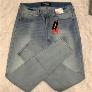NWT Express light was jeans